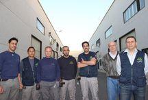 Nuestro trabajo / Imágenes sobre los trabajos y actividades de Delaire 2000, empresa dedicada a la instalación de sistemas de climatización.
