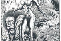 Fantasy / Meus desenhos do universo da fantasia!