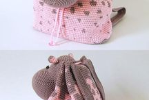 Crochet Bags and Backpacks