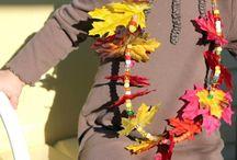 podzimní výrobky pro děti