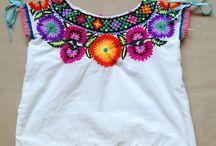 roupas bordadas