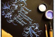 kaligrafia i iluminacja