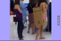 Walmart: I have to have a board for these people. / Where do these people think they are??? Bwhahaha