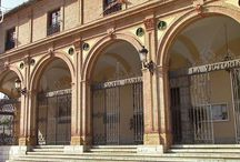 Parroquia Real Santuario de Santa María de la Victoria, Málaga. / La Iglesia de la Victoria se encuentra cerca del centro histórico de Málaga. Se construyó para albargar la imagen de Maria de la Victoria.