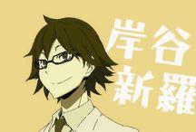 The Underground Doctor Shinra Kishitani and his alter Diamonds - Durarara!!