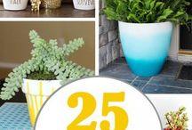 Jardinagem / Varandas, plantas, decoração
