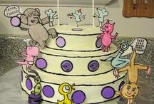 Elephant and Piggy Cake / by Kristi Schultz