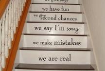 Stair case art