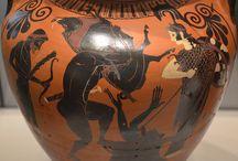Myths and legends / Артефакты содержащие тексты и рисунки мифов и легенд