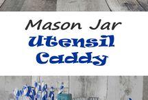 Mason Jars ideas etc