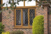 Woodgrain Windows