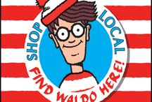 FIND WALDO IN OMAHA! / This July, Shop Local Omaha in conjunction with member bookstore, The Bookworm, will be hosting an exciting month-long scavenger hunt to find Waldo at participating Shop Local Omaha member businesses. Feel free to pin your finds here...