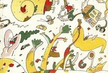 Cartoon book covers / The ECC Cartoonbooksclub loves cartoon books, here are our favourite covers