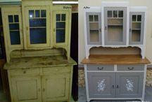 Bútorok felújítva