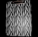 Zebra print - black and white like