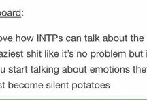 INTP / I'm mostly an INTP so don't wonder about the messiness