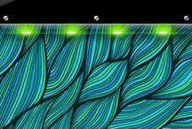 Simple 2 iPhone 4 lock screen