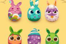 DOODLES - Easter