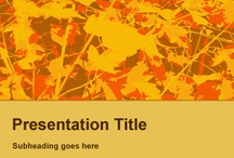 Fall PowerPoint Templates