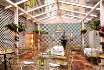 Brazil Brazil  / Brazil Brazil is steps away from the Broadway shows and Times Square. Savor on a variety of exotic Brazilian cuisine whether it's lunch, dinner, prix fix, or the raw bar menu. A colorful outdoor café, beautiful garden and a bar and lounge are also available to cater to parties and groups!