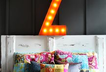 """{ 36"""" Original VML } / 36"""" Vintage Marquee Lights with a rusty finish to decorate any space"""