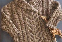 Blusa Poncho TRICO / Receitas de trico