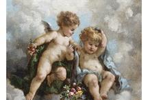 cherubs and angels
