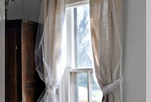 Windows and curtains