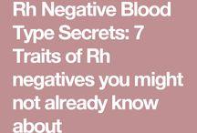 R h negative