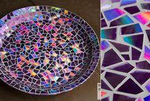 mosaicos de cd