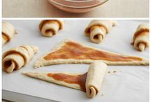 Croissant con cajeta / Postres