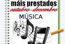 Máis prestados MÚSICA Outono 2013 / Os máis prestados de MÚSICA na Biblioteca Ánxel Casal OUTUBRO-DECEMBRO 2013