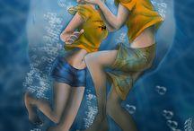 Percy Jackson / Annabeth and Percy ❤️