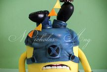 MINIONS / Minions/Despicable Me cakes and cupcakes
