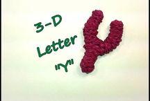 rainbow lettres