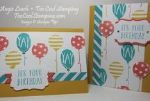 Balloon Bash - Stampin' Up (retired) / by Diana Crawford