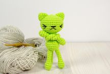 Cat crochet projects for Miss S