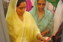 Harsimrat Kaur Badal / Harsimrat Kaur Badal is the Union Cabinet Minister of Food Processing in the Government of India and Member of Parliament from Bathinda.