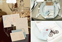 Invitations and Favours / by Hannah