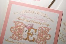 Princess party / by Julia Kuku Couture Invitations