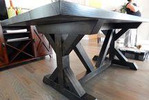 Chunky Farmhouse Tables