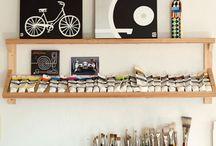 studio ideas / by MaryAnn McKeating
