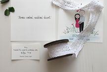 Wedding invitations belong the photos