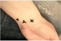 tattoos / by esther ellen
