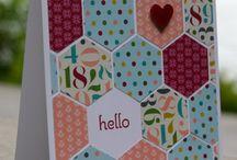 hexagon kaartjes