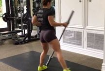 Glutes and shoulders