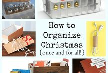 Christmas Decor Storage / by Staci Lindholm Wray