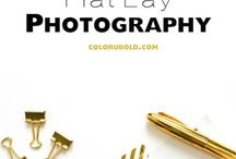 BLOGGING (PHOTOGRAPHY). / Examples & tutorials on how to take great pictures for your blog.
