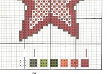holiday cross stitch/blackwork / cross stitch and blackwork patterns for holidays