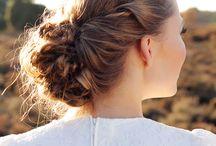 Wedding hair & make-up / Inspiratie voor bruids haar & make-up